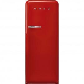 Smeg FAB28RRD5 - Frigorifero Monoporta Anni '50, Rosso, 270 Litri, 60 cm, Cerniere a Destra, Classe D (A+++)
