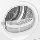 Beko DRX722W -  Asciugatrice OptiSense a Pompa di Calore, EcoGentle, 7 Kg, A++