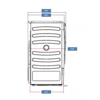 Candy CSO4 H7A1DE-S -  Asciugatrice Slim a Pompa di Calore, 7 kg, Wi-Fi, A+