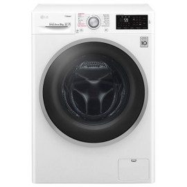 Lg F4J6VY1W - Lavatrice Carica Frontale, 9 kg, 1400 giri, Vapore, Direct drive, A+++-20%