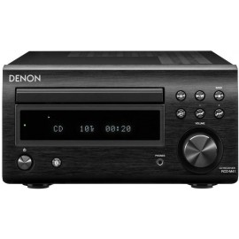 Denon RCD-M41 GARANZIA ITALIA  - Sintoamplificatore Mini Hi-fi, Radio, CD, Bluetooth, Black