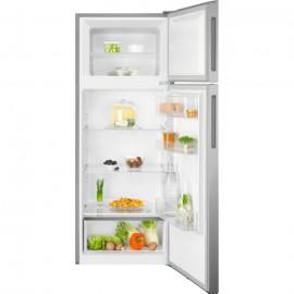 Electrolux LTB1AF24U0 - Frigorifero con congelatore, Libera installazione, 206 Litri, Classe F (A+), Argento
