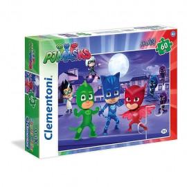 Clementoni 26423 - E-One Pjmasks 60pz