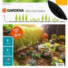 Gardena Micro-Drip-System Start Set per filari di piante S, 15m - Modello 13010-20