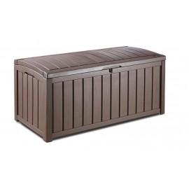 Keter Glenwood Deck Box Custodia di conservazione Rettangolare Marrone