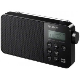 Sony SDR-RS40DBP Black - Radio Digitale DAB+/FM