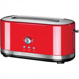 KitchenAid 5KMT4116EER - Tostapane con 2 Scomparti Lunghi, Rosso Imperiale