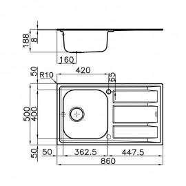 Bosch BGL3A132 - Aspirapolvere con Sacco, 600 W, 4 Lt., 79 dB, Classe A