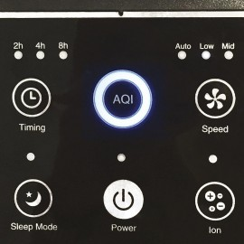 Xiaomi Mi Air Purifier 2H - Purificatore d'aria, Hepa, 260 m3/h, fino a 30 mq
