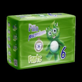Pillo Premium - Pants Extra-Large, Taglia 6 (16+ Kg), 26 Pants