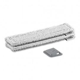 Kärcher 2.633-131.0 - Panno in Microfibra per Esterni, Compatibile con Modelli WV Premium, 2 Pezzi