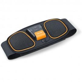 Beurer EM 32 - Elettrostimolatore per Addominali, Cintura per Allenamento, 2 elettrodi (EMS)