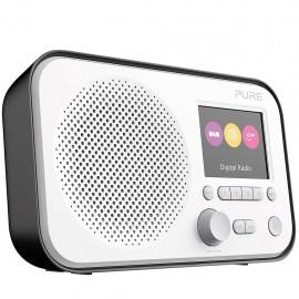 PURE Elan E3 Nera - Radio Portabile DAB/DAB+ Digitale, Radio FM, Timer da cucina