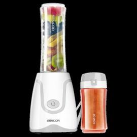 Sencor SBL 2210WH - Smoothie Maker, 250 W, 0,6 Lt. e 0,3 Lt., BPA Free, Lama Titanio,