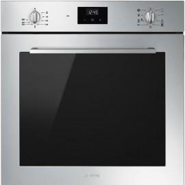 Smeg SF6400TVX - Forno Termoventilato, 60 cm, Termoventilato, Inox antimpronta, Vapor Clean, A
