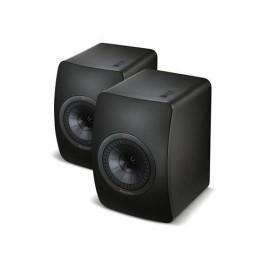Kef LS50 - Altoparlante, 2 vie, 100 W, 47?45000 Hz, 8 Ohm, All Black  (COPPIA)