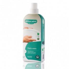 Almacabio A15046 Emerald - Detergente Liquido Piatti a Mano, 1000 ml