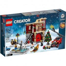 Lego Creator Expert 10263 - Caserma dei Pompieri del Villaggio Invernale