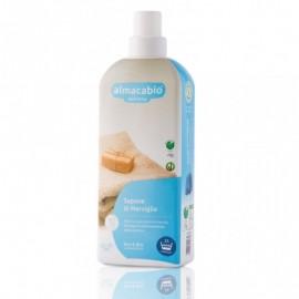 Almacabio A10646 Aquamarine - Sapone di Marsiglia, 1000 ml
