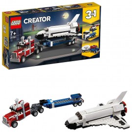 Lego Creator 3-in-1 31091 - Trasportatore di shuttle