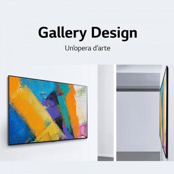 "LG OLED 55GX6 - Smart TV OLED 139,7 cm (55"") 4K Ultra HD HDR Nero"