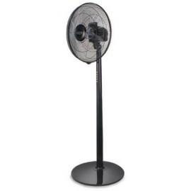 Argo STANDY EVO BLACK -  Ventilatore, 40 Cm, Nero