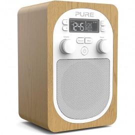 Pure Evoke H2 (DAB/DAB+ Digitale e Radio FM con Bluetooth,Timer da cucina) Quercia