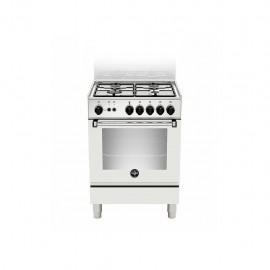 La Germania AMN654GBV - Cucina con Forno a Gas, Bianco, 60x50 cm