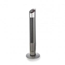 Argo Aspire Tower - Ventilatore a torre, Argento, 3 Vel