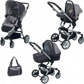 Foppapedretti 9700337236 - Up3 Travel System Sport Grey