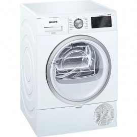 Siemens WT7WH608IT - Asciugatrice a Pompa di Calore, SelfCleaning, HomeConnect, 8 Kg, A++