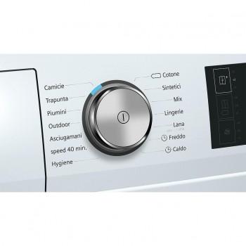 Siemens WT7WH608IT - Asciugatrice a Pompa di Calore, SelfCleaning, HomeConnect, 8 Kg, A++