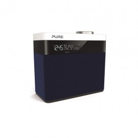 Pure Pop Maxi S - Radio Stereo portatile, DAB+, Bluetooth, LCD-Display, Navy