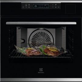 Electrolux KOABS31X - Forno da Incasso SteamPro, SousVide, Steamify, Termosonda, Pizza, 60 cm, A+