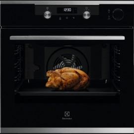 Electrolux KOCDH60X - Forno da Incasso SteamCrisp, AquaClean, Pizza, 60 cm, A+