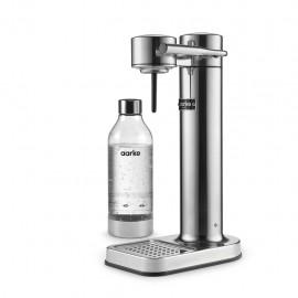aarke Carbonator II Polished Steel - Gasatore, 1 Bottiglia PET, 1 Lt., BPA Free