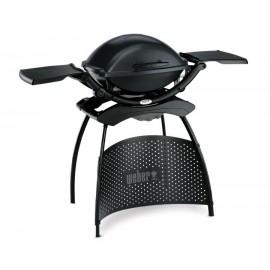 Weber Q 2400 Grigio Scuro - Barbecue Elettrico + Stand - Modello 55020853