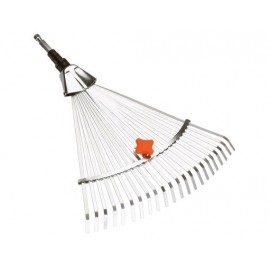 Gardena Scopa per Erba regolabile in Acciaio Combisystem - Modello 3103-20