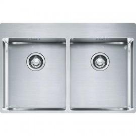 Franke BXX 220 36-36 TL Inox satinato - Lavello Franke Box, 77x51 cm